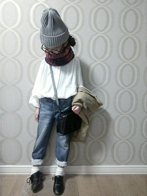 moshimoshimoshiさんのバレエシューズ「URBAN RESEARCH DOORS KIDS FORK&SPOON Ballet Shoes」を使ったコーディネート