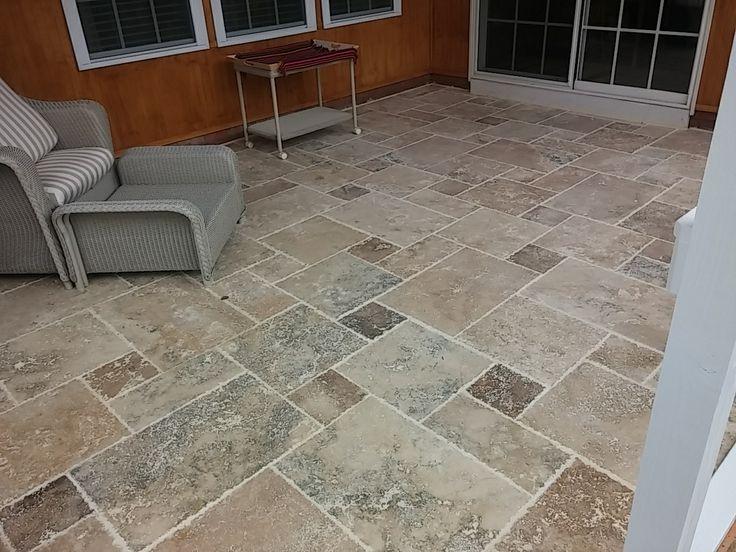 Tile Front Porch