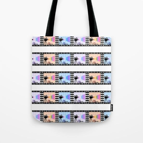 Movie stripes Tote Bag