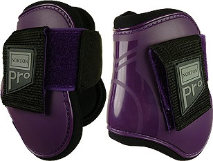 Pro Joint Protection Brush Boots for horses from Norton.