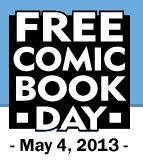 All around the world, you can get FREE comic books on May4!!