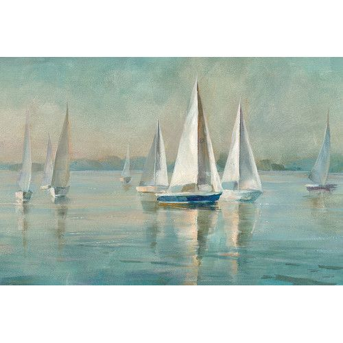 Found it at Joss & Main - Sailboats at Sunrise Canvas Print