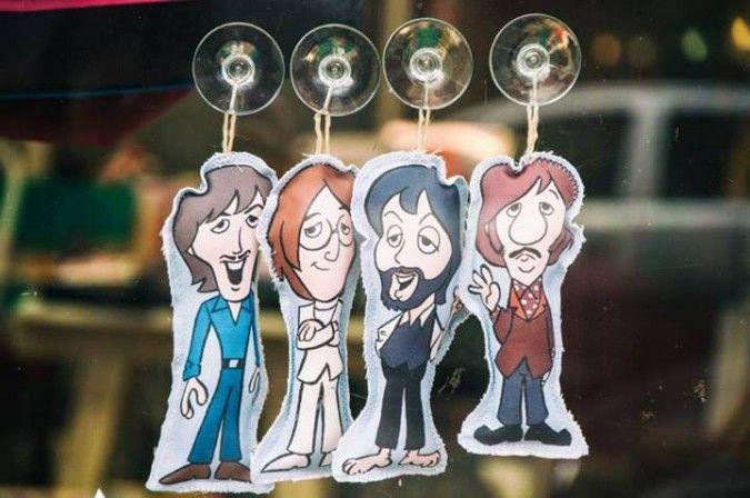 Muñequitos Beatles!