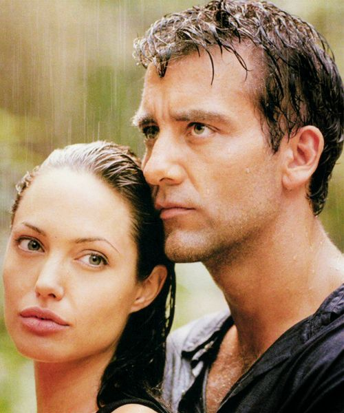 """""""Beyond Borders"""". Angelina Jolie and Clive Owen (2003)."""