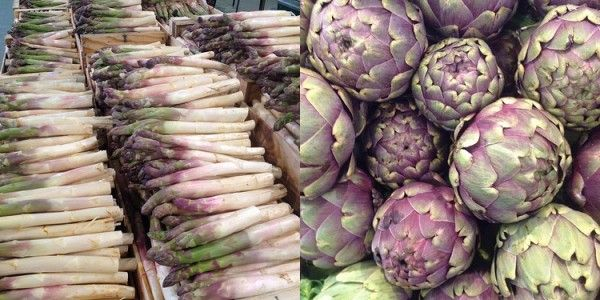 Who says #asparagus and #artichokes are difficult to pair with wine? Try them with a Beaujolais Blanc; an underrated #Chardonnay. Ask for an unoaked Beaujolais Blanc for the best match with these vegetables.