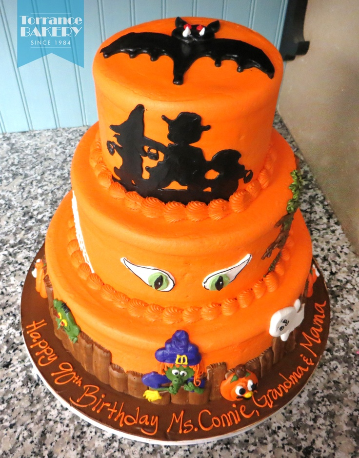 Fantastic Halloween cake done this past weekend! Really captures the spirit, don't you think? ;)