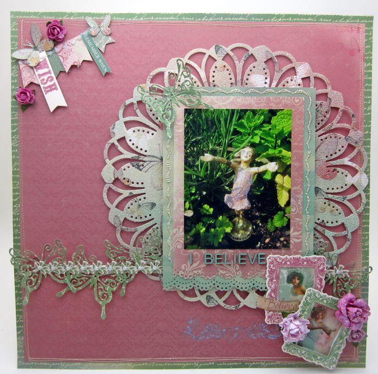 KaiserCraft Enchanted Garden - Lori Williams