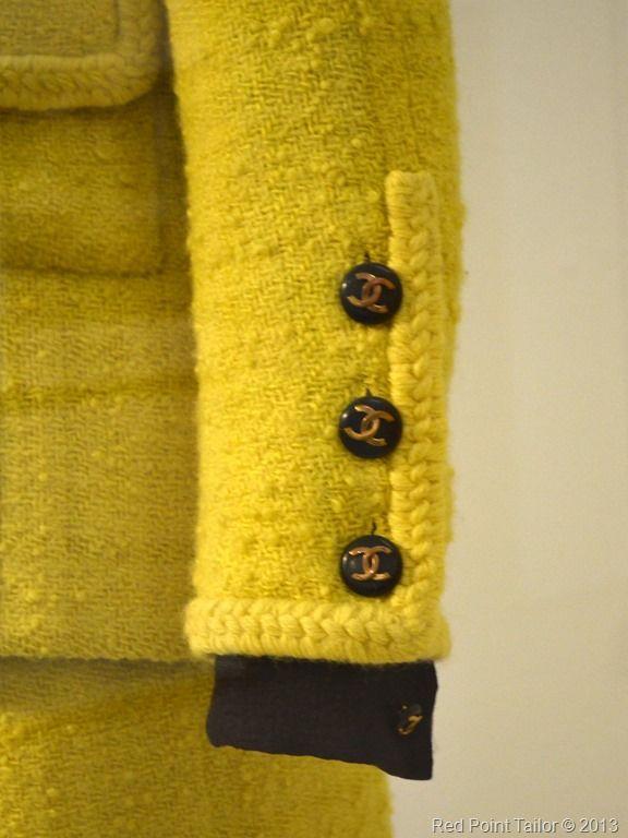 The Chanel Legend exhibition The Gemeentemuseum Den Haag trims, pocets, jacket,