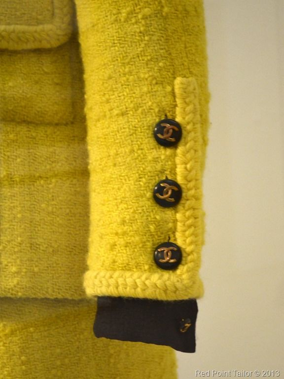 The Chanel Legend exhibition The Gemeentemuseum Den Haag trims, pocets, jacket,