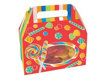 Sugar Buzz - Candy Print Treat Boxes with Handles | Whish.ca