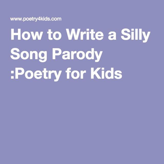 how to write a jingle poems
