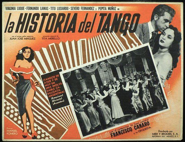 1949 - LA HISTORIA DEL TANGO - Manuel Romero - (mexicano)