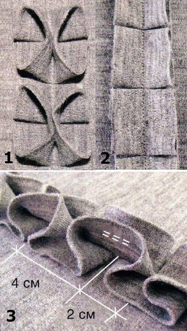 DIY fabric manipulation (Kenneth King had an article on a similar technique in Threads, iirc. He did it with ribbon. - Matti)