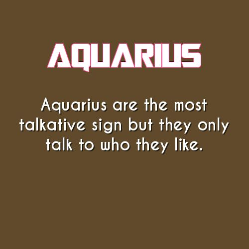 aquarius daily astrology fact