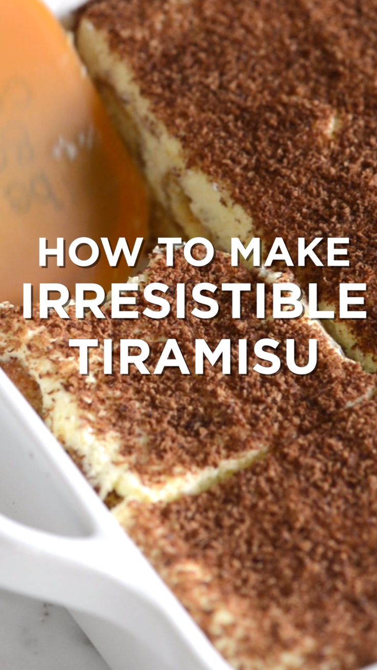 Tiramisu is one of our absolute favorite desserts. It is even simple to make, you just need a little time. #dessert #tiramisu