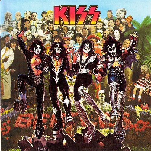 Kiss midget cover band something is