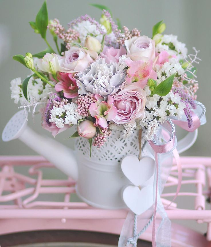 Картинки нежного букета цветов