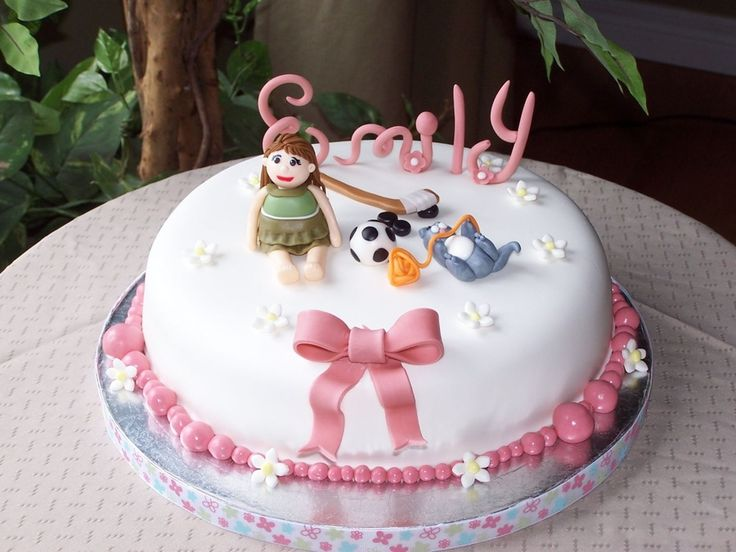 Images Of Little Girl Birthday Cakes