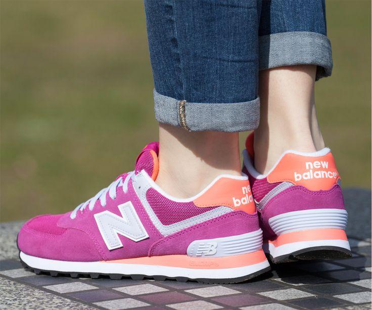 Sehen Sie schon unsere schöne New Balance WL574 CPI? Ihre Farbe sind ideal für Sommer. Extrem leichte und luftige Schuhe, um bequem nutzen. Empfohlen für alle, die auf höchstem Qualität und Komfort zu schätzen wissen.  #Newbalance #Sommer #Farbe #Qualität #Komfort #Schuhe #Damen #Mädchen