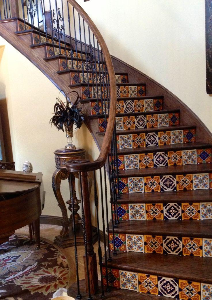 Escaleras estilo mexicano