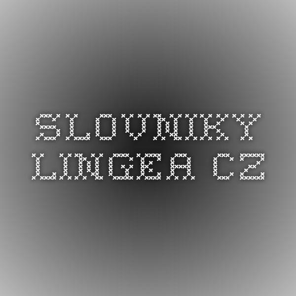 slovniky.lingea.cz