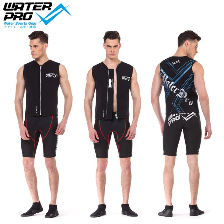 Free shipping Water Pro 3 5mm Wetsuit Vest WPV1 Water