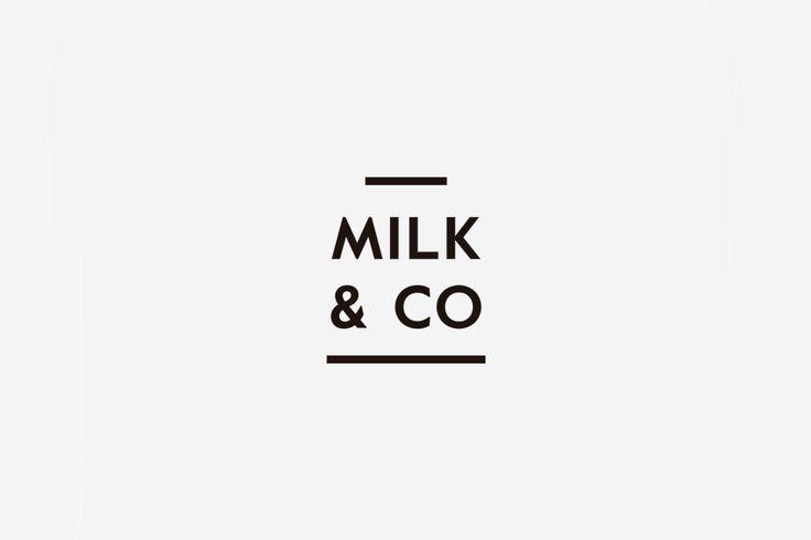 """다음 @Behance 프로젝트 확인: """"Milk & Co""""…"""