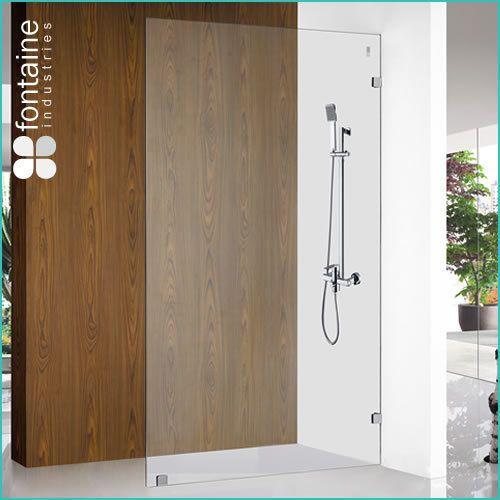 Ponti Frameless Shower Panel 1200, Shower Screens