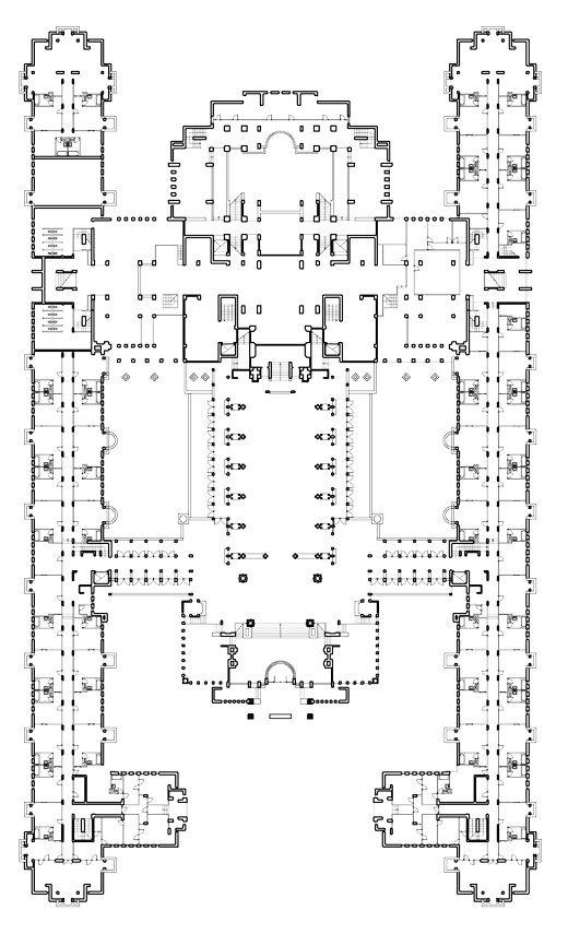 Imperial Hotel, Tokyo Japan (1915-21, demolished 1968)   Frank Lloyd Wright   Archweb 2D