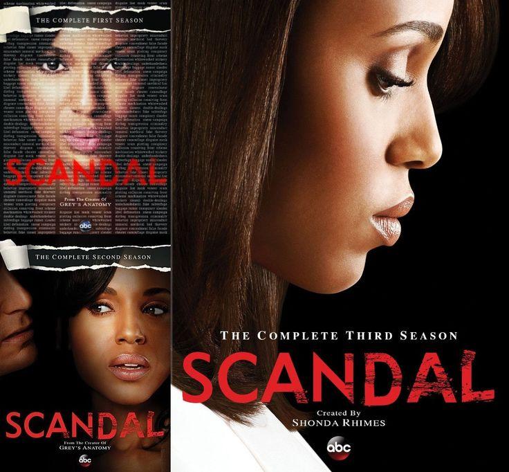 Scandal Seasons 1-3 DVD Set