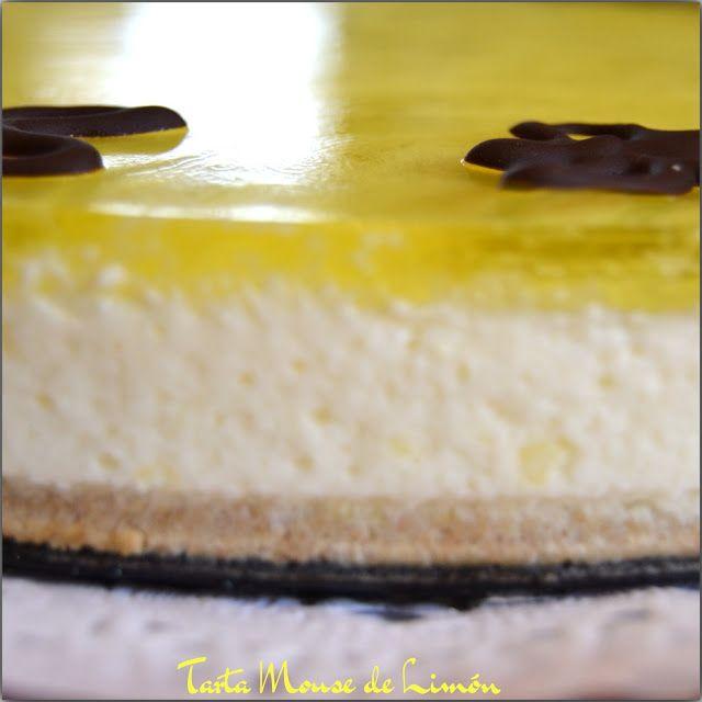 pastel mousse de limón