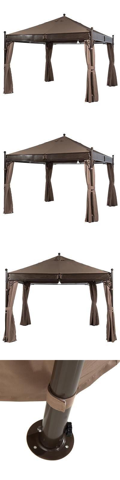 Gazebos 180995: Abba Patio 12 X 12 Ft Outdoor Art Steel Frame Garden Party Canopy Backyard -> BUY IT NOW ONLY: $699.99 on eBay!