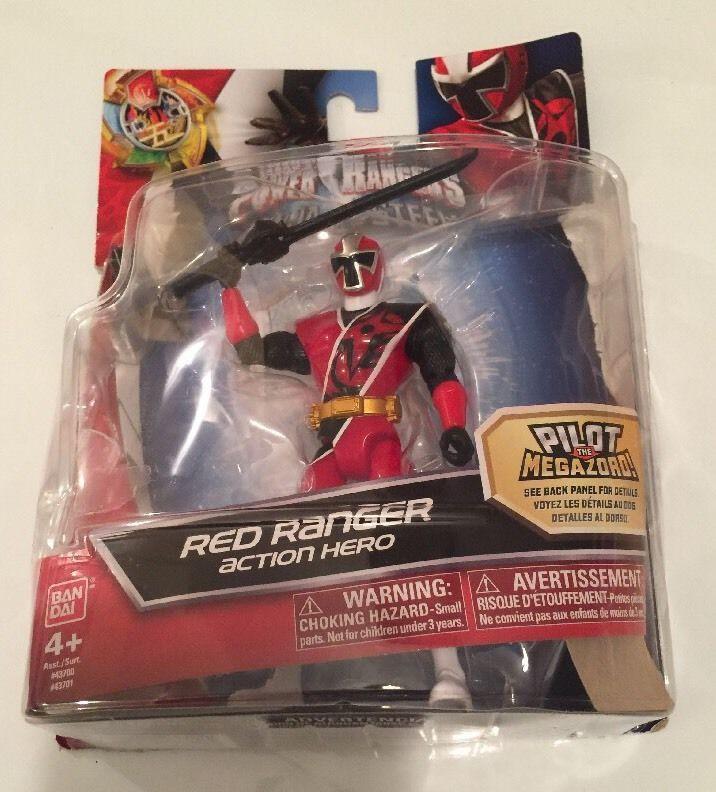 SABAN'S POWER RANGERS NINJA STEEL RED RANGER COLLECTOR ACTION FIGURE, NIOP  | eBay