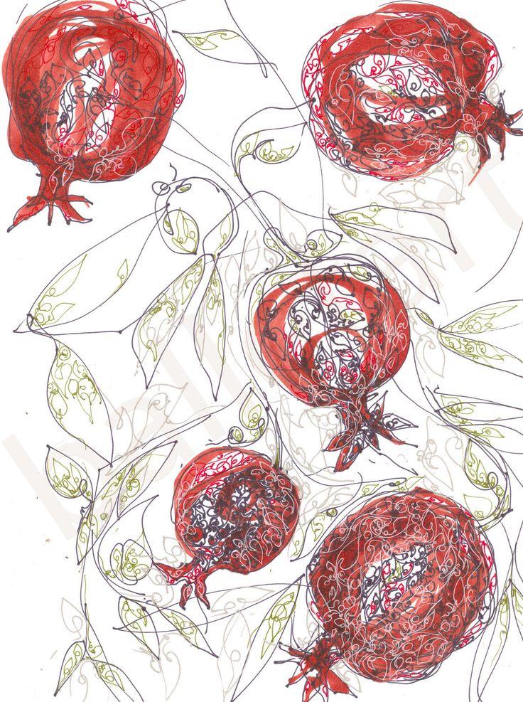 pomegranate red | BalletArt