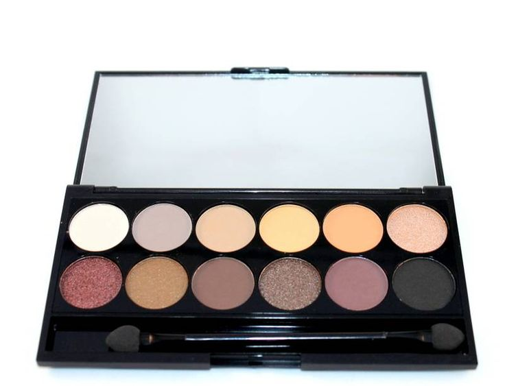 Sleek MakeUP iDivine Au Natural Palette - Oogschaduw