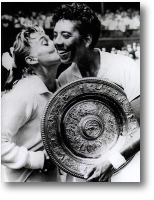 Before Venus and Serena, there was Althea Gibson, Women's Wimbledon Winner by Black History Album, via Flickr