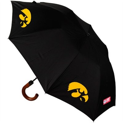 Iowa Hawkeyes Game Day Umbrella - Black #ultimatetailgate #fanatics