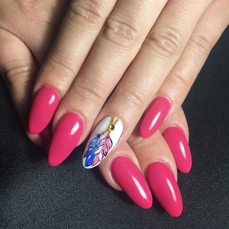 3 отметок «Нравится», 3 комментариев — Federicanails (@federicapassionenails) в Instagram: «#nails #naisart #piume #rosa #passion #brillantini #picoftheday #picture #instagood #instalike…»
