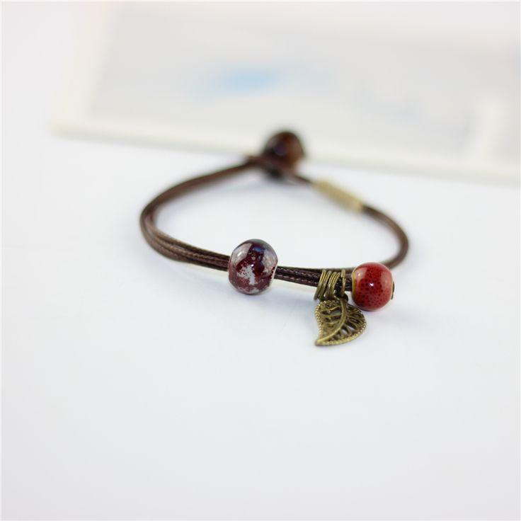 Aliexpress.com: Koop Miredo sieraden groothandel cermaic bracelete armbanden voor vrouwen touw ketting gift accessoire gratis verzending 10189 van betrouwbare bangles for women leveranciers op Miredo