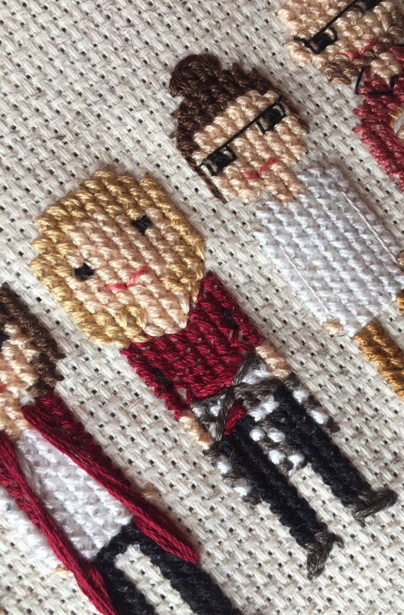 Stitch Family Cross Stitch Family Custom by RubyBlueStudioShop