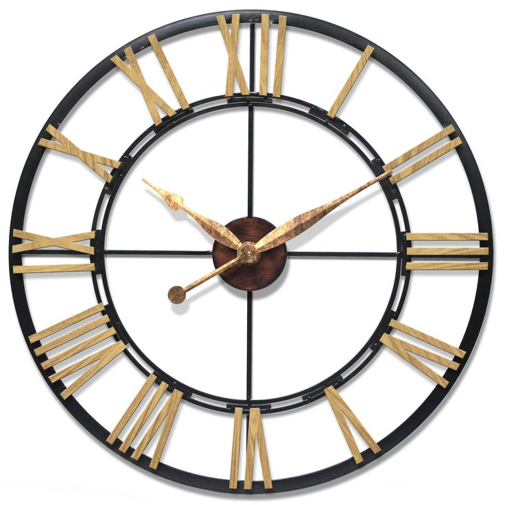"""Oversized 45"""" Cologne Wall Clock"""