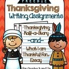 This freebie includes all the tools that you will need for two Thanksgiving-themed writing assignments.... 1. Thanksgiving Roll-a-Story: This is a fun narrative writing assignment, in which students roll dice to determine their character, setting, and conflict.