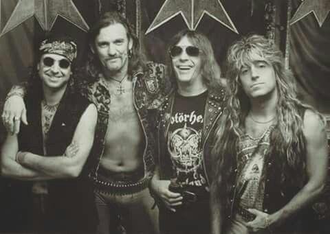 Phil Campbell/Lemmy Kilmister/Wurzel/Mickey Dee