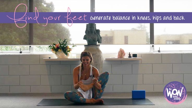 Week 29: Find your feet - This is a 15min self care practice to help you find your feet and generate balance. It's therapeutic for those of you that have knee, hip and back challenges, and provides instruction on foundational knowledge for all yoga poses.