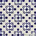 Mexican Tile - Blue Marguerite Mexican Tile
