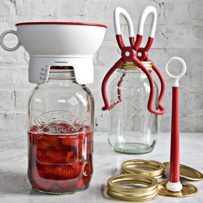 Kilner Jars & Canning Kit: you gotta get the jar lifter!