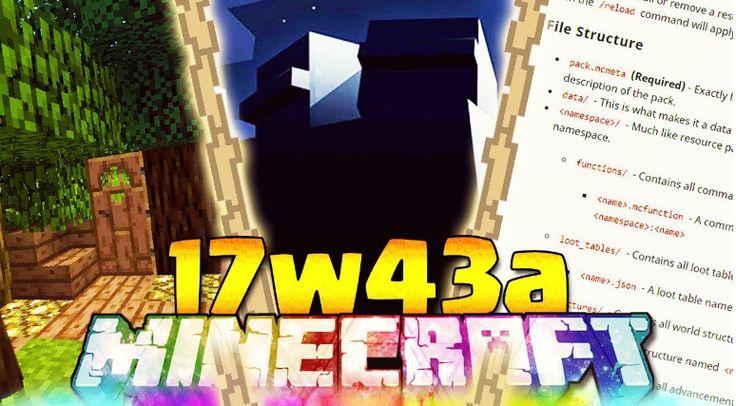 Minecraft 1.13 Snapshot 17w43b Download Minecraft 1