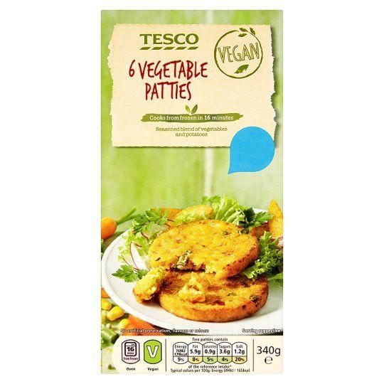 Tesco 6 Vegetable Grills 340G - Groceries - Tesco Groceries