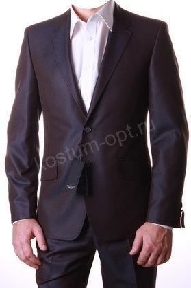 Черный мужской пиджак хамелион с