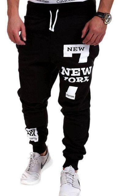 Male Trousers Men Pants Casual Pants Sweatpants